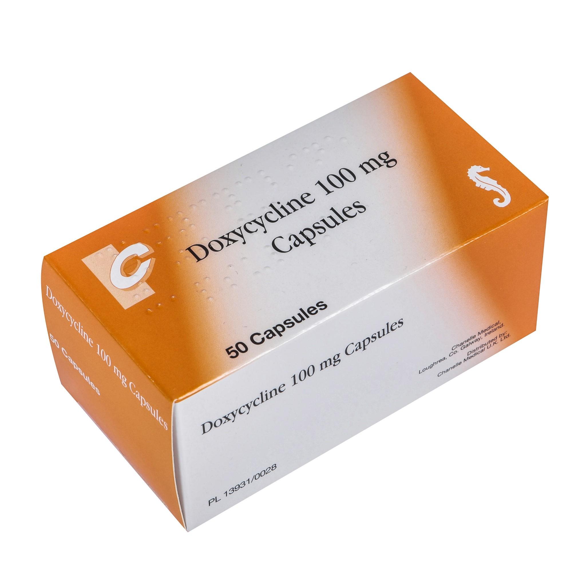 how to take doxycycline 100mg